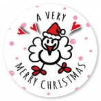 Sluitsticker Merry Christmas