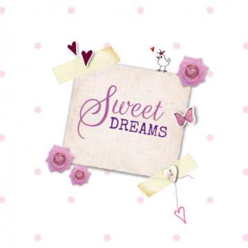 Canvas vintage sweet dreams